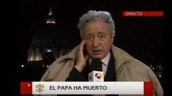 La desconocida profesión de Antonio Pelayo, mítico corresponsal en Roma de Antena