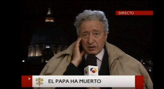 La desconocida profesión de Antonio Pelayo, mítico corresponsal de Antena 3 en