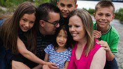 Le rêve de ma vie: «J'ai adopté trois Ukrainiens et une petite