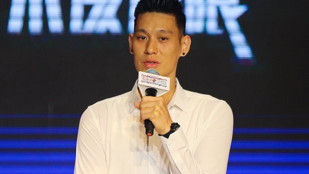 SHANGHAI, CHINA - JULY 29: NBA player Jeremy Lin of the Toronto Raptors attends the 2019 CBA Draft on July 29, 2019 in Shanghai, China. (Photo by Visual China Group via Getty Images/Visual China Group via Getty Images)