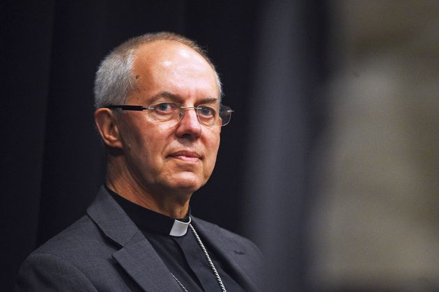 The Archbishop of Canterbury Justin Welby introduces the new Bishop of Dover, chaplain to the Commons...
