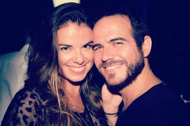 Mirianne Brûlé et son conjoint Leo Manzur.