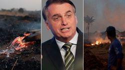 Bolsonaro rifiuta gli aiuti del G7 e sfida il mondo sui roghi in Amazzonia (di U. De
