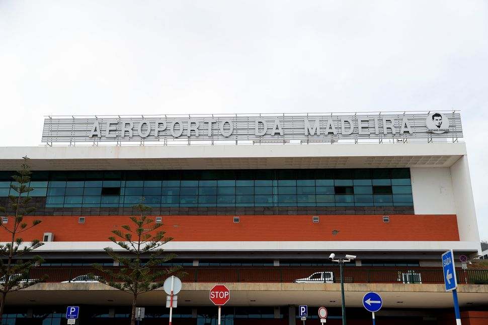 A general view of the Cristiano Ronaldo International Airport in Madeira (Photo by Adam Davy/PA Images via Getty Images)