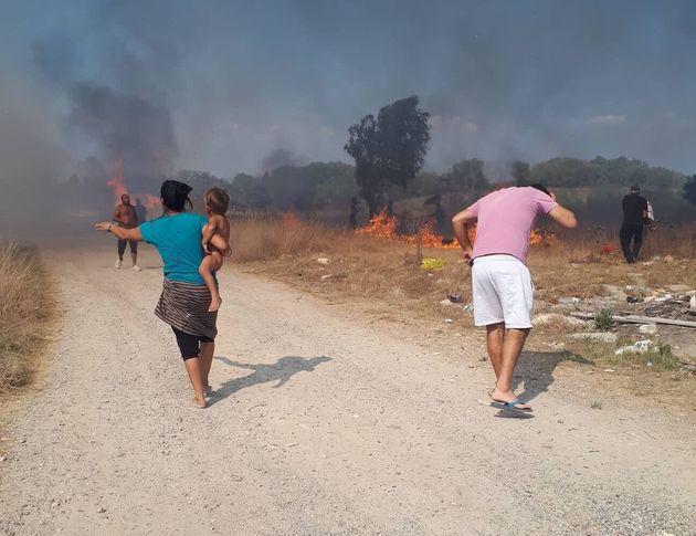 Υπό έλεγχο η μεγάλη φωτιά στην Κέρκυρα - Εκκενώθηκαν δύο