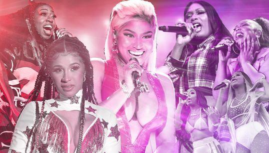 Megan Thee Stallion, Nicki Minaj And The Female Rap Collaborations Taking Over
