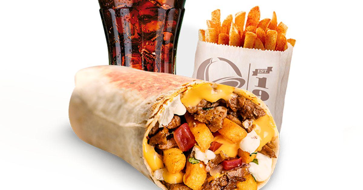 Taco Bell lança no Brasil lanche sucesso nos EUA: Burrito recheado com fritas