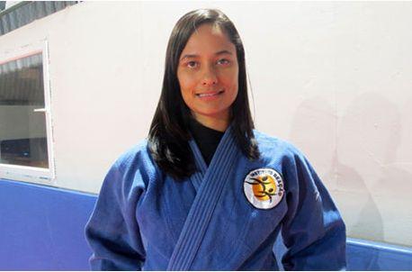 Maria Núbea Lins, judoca do Instituto Reação