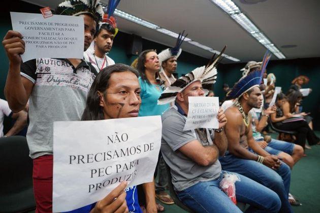 Permissão para agropecuária e mineração em terras indígenas avança na