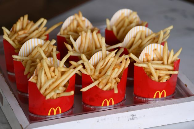PHILADELPHIA, PA - SEPTEMBER 02: McDonald's fries are offered at McDonald's at Made In America Festival...