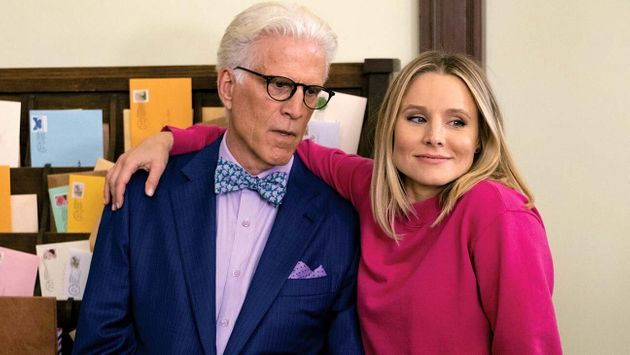 Ted Danson and Kristen Bell in