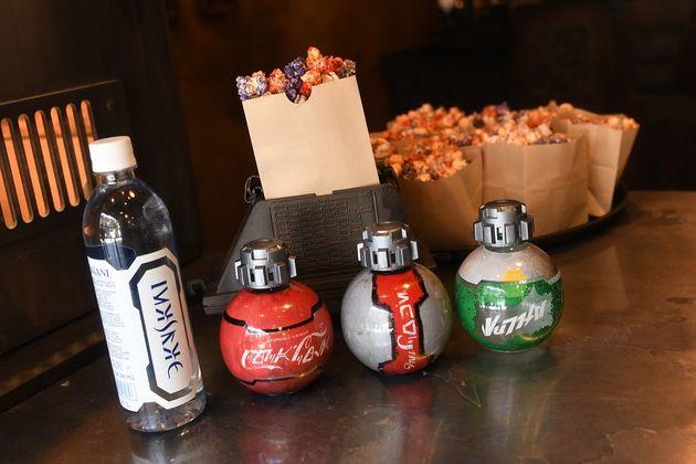 ORLANDO, FLORIDA - AUGUST 27: General view of Kat Saka's Kettle and Star Wars beverages special design...