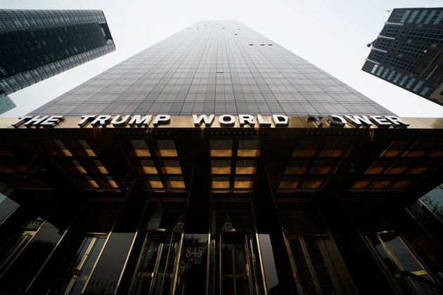 The Trump World Tower is pictured in the Manhattan borough of New York, New York, U.S., April 30, 2019....