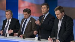 Los partidos que protagonizaron la crisis en Islandia, favoritos en las