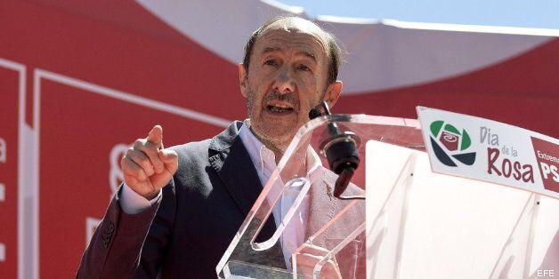 Rubalcaba anuncia que el PSOE hará