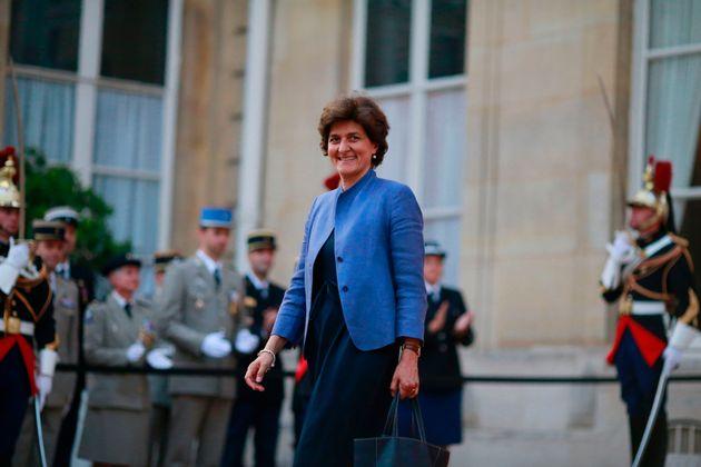 L'éphémère ministre des Armées Sylvie Goulard sera la candidate de la France...