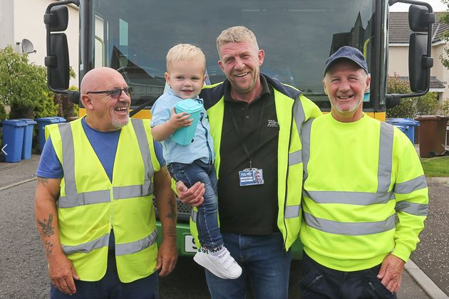 Binmen Make Two-Year-Olds Birthday Totally Non-Rubbish