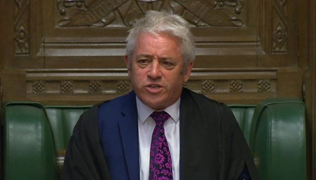 John Bercow Says Suspending Parliament Is A Constitutional Outrage