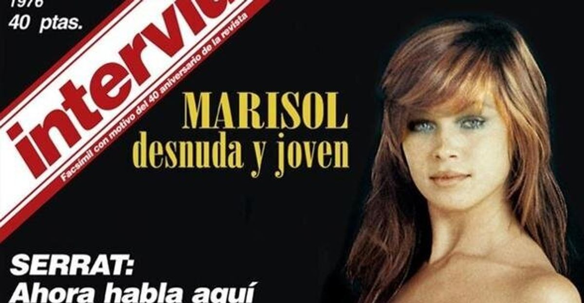 El Escándalo Del Desnudo De Marisol En Interviú De Las Fotos