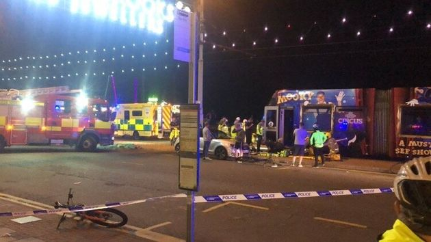 Teenager Seriously Injured After Falling Under Blackpool Tram