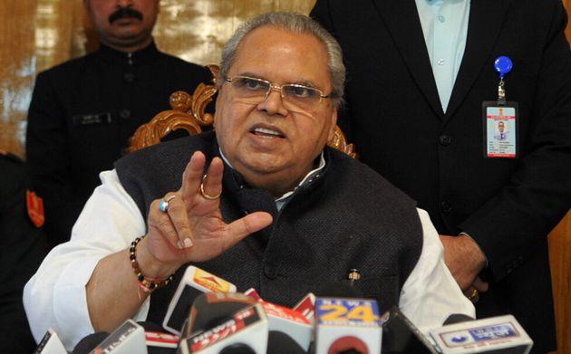 A file image of Jammu and Kashmir Governor Satya Pal