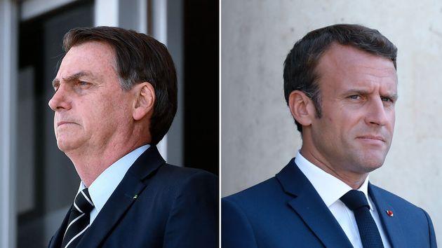 Depuis quelques jours, les présidents français et brésilien Emmanuel Macron et Jair Bolsonaro se déchirent