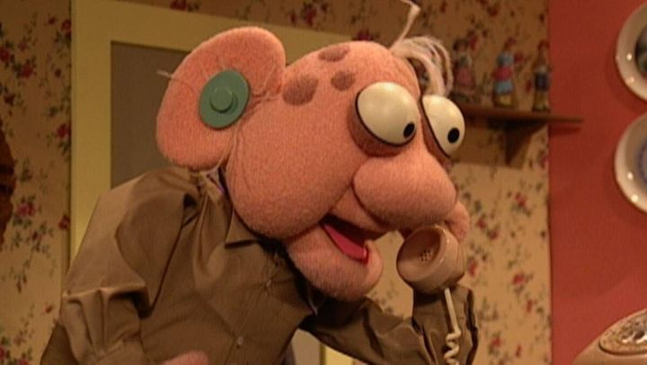 """""""Crank Yankers"""" on Comedy Central."""
