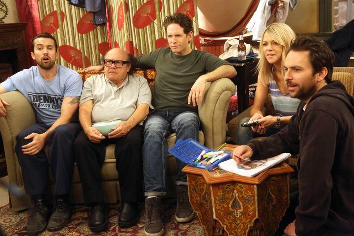 "The cast of ""It's Always Sunny in Philadelphia"" on FXX."