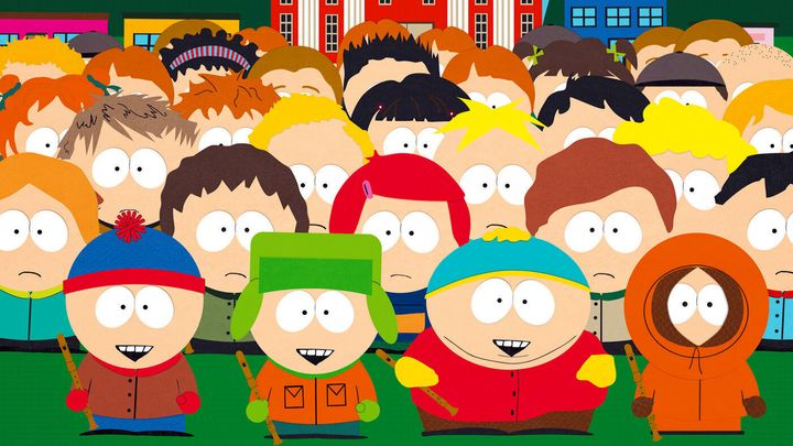 """""""South Park"""" on Comedy Central."""