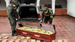 Κολομβία: Φέρετρο με 300 κιλά μαριχουάνας εντόπισαν οι