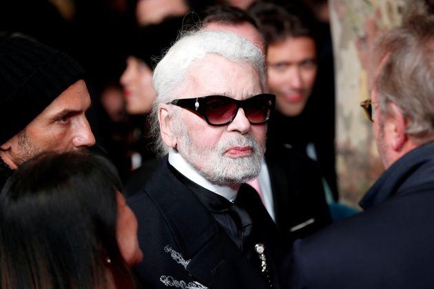 LVMH rebaptise son prestigieux prix en honneur à Karl Lagerfeld (photographié ici en novembre