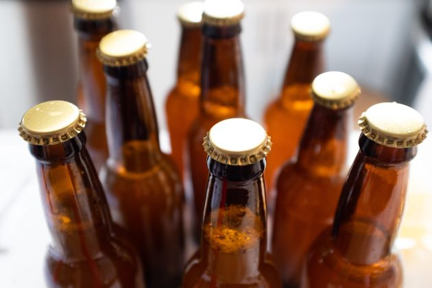Beer bottles for home-brewed