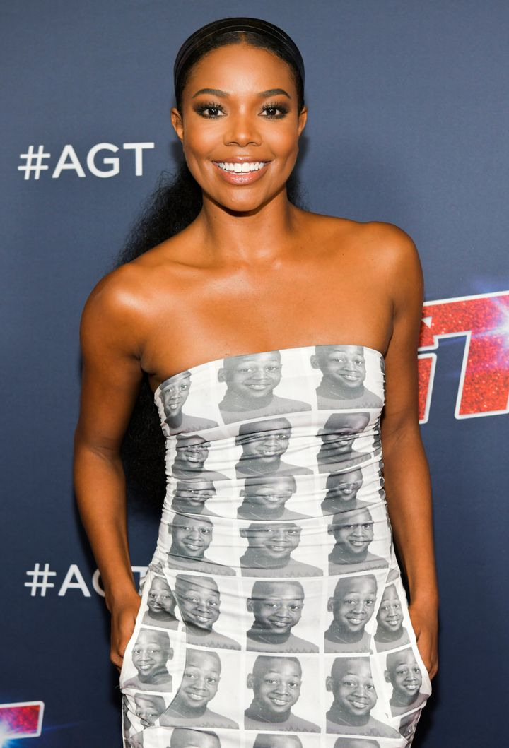 "Gabrielle Union attends the ""America's Got Talent"" Season 14 Live Show at the Dolby Theatre on Aug. 27, 2019, in Hollywood, C"