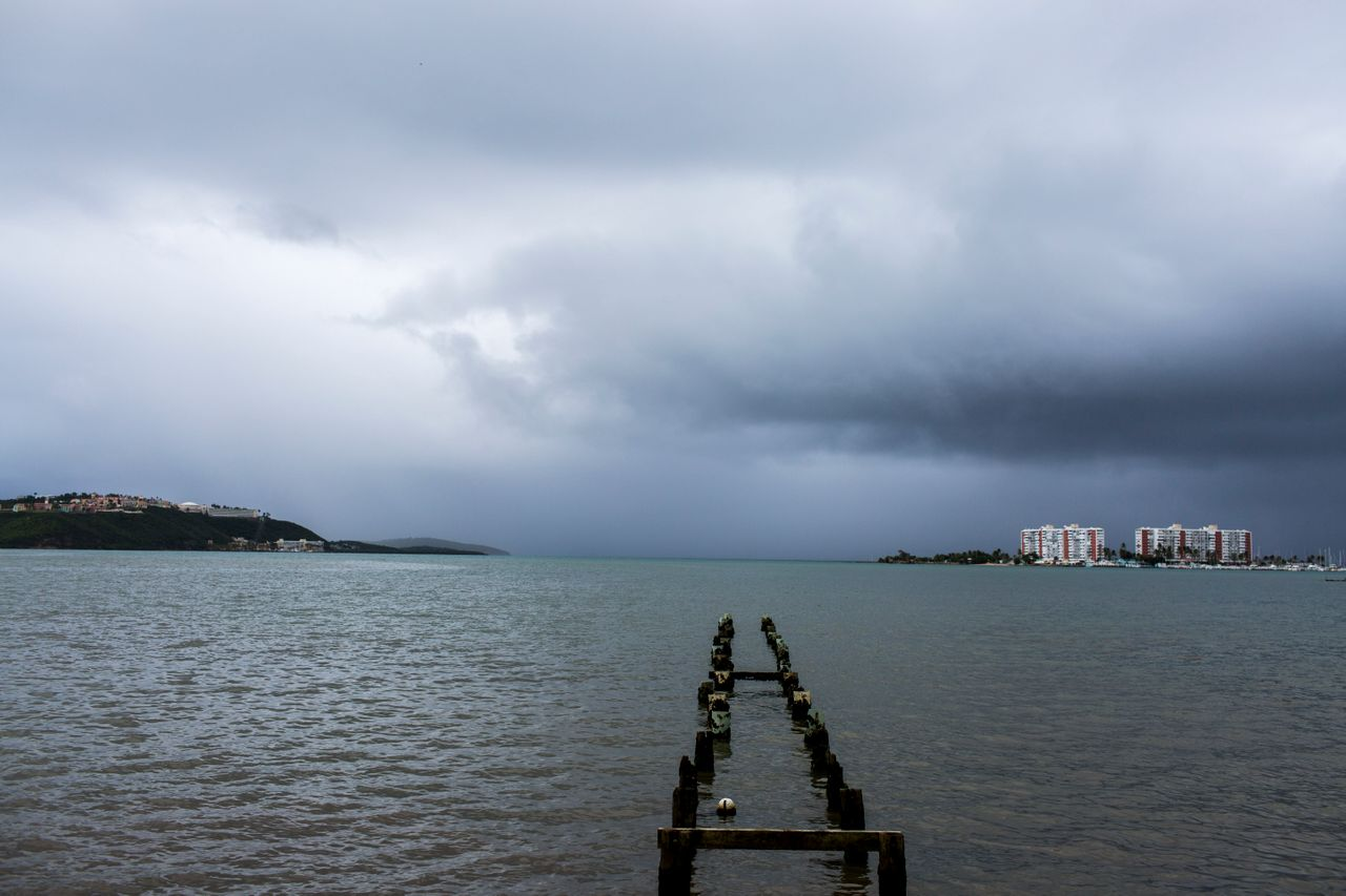 Puerto Rico prepares to receive the hit of Tropical Storm Dorian today August 28, 2019 in Fajardo, Puerto Rico. Tropical Storm Dorian will be the first major storm to hit the Island after the 2017 Hurricane Maria. Photo by Dennis M. Rivera Pichardo for The Huffington Post