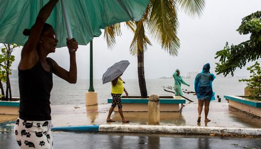 Puerto Rico Spared The Worst Of Hurricane Dorian, First Major Storm Since