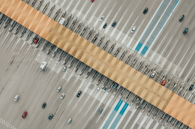 Aerial View of Toll