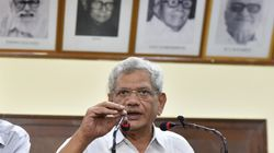 Sitaram Yechury Travels To Kashmir, Mobile Services Restored Some