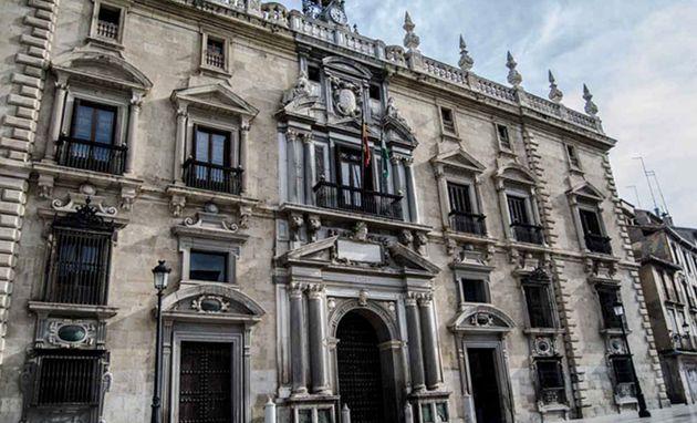 Vista de la Audiencia de Granada, que ha enjuiciado el