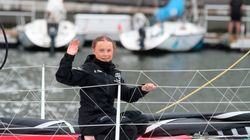 Greta Thunberg Arrives In The US After Two-Week Sail Across