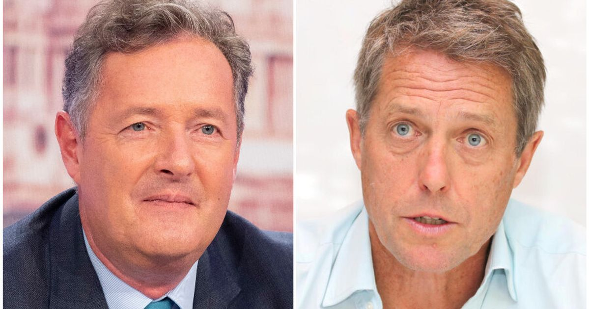 Piers Morgan Slams 'Disgusting' Hugh Grant Over 'UK Is Finished' Comments