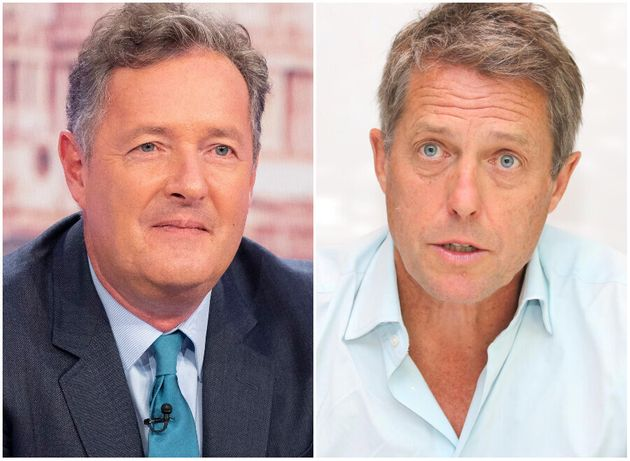 Piers Morgan Slams Disgusting Hugh Grant Over UK Is Finished Comments