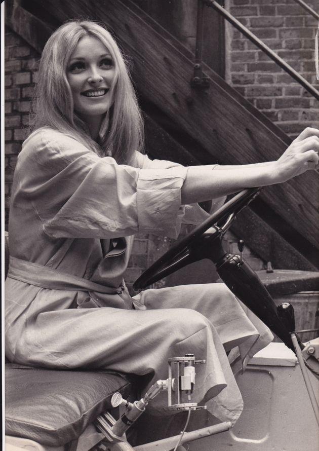 事件発生直前の1969年6月に撮影されたシャロン・テート。