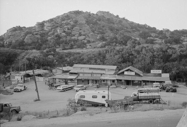 マンソン・ファミリーが共同生活を送ったスパーン映画牧場