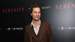 Matthew McConaughey nommé professeur à l'Université du Texas à