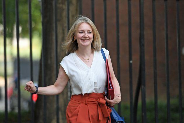 International Trade Secretary Liz Truss in Downing Street in