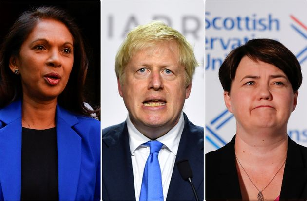 Gina Miller, Boris Johnson e Ruth