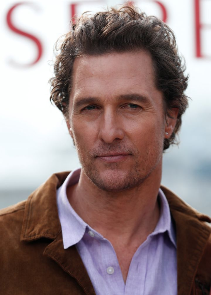 """Cast member Matthew McConaughey attends a photocall for the film """"Serenity"""", in Marina del Rey, California, U.S., January 11, 2019. REUTERS/Mario Anzuoni"""