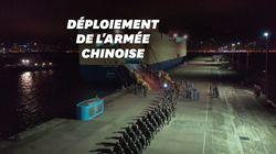 La Chine dévoile une vidéo menaçante de soldats en route pour Hong