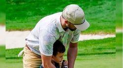 Ο Τζάστιν Τίμπερλεϊκ μαθαίνει γκολφ στον γιο του και είναι η πιο γλυκιά εικόνα που είδαμε