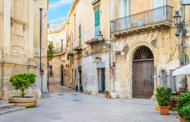 A sunny afternoon in Lecce, Puglia, southern
